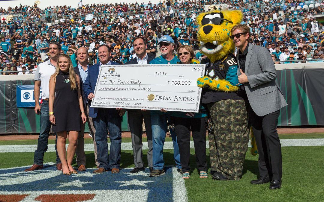 Bates Family Receives $100,000 Toward Their Dream Home