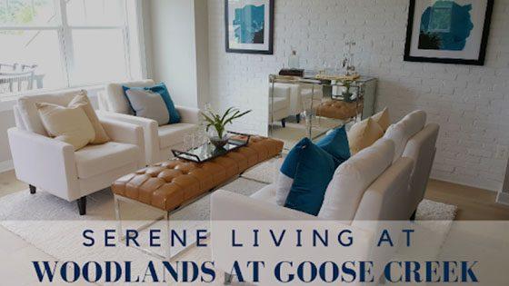 Serene Living at Woodlands at Goose Creek
