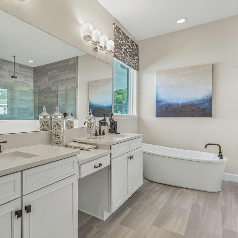 Dream Finders Homes Bathroom