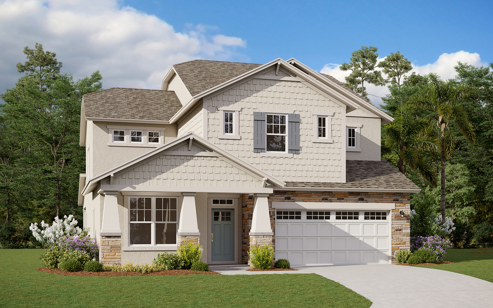 Maple Elevation A