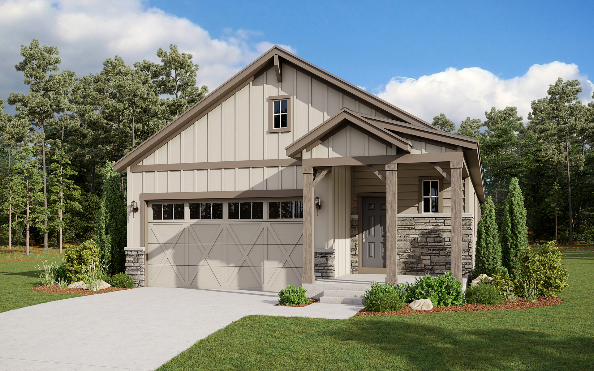Sterling Ranch Chatfield Elevation A
